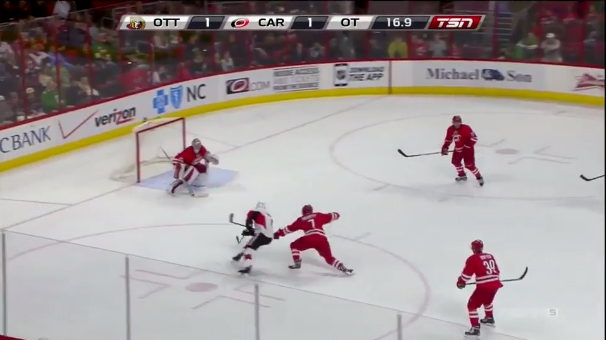 Kyle Turris Move May Be NHL Highlight Of The Year (VIDEO)