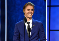 Justin takes the stage for his rebuttal (Getty Images)