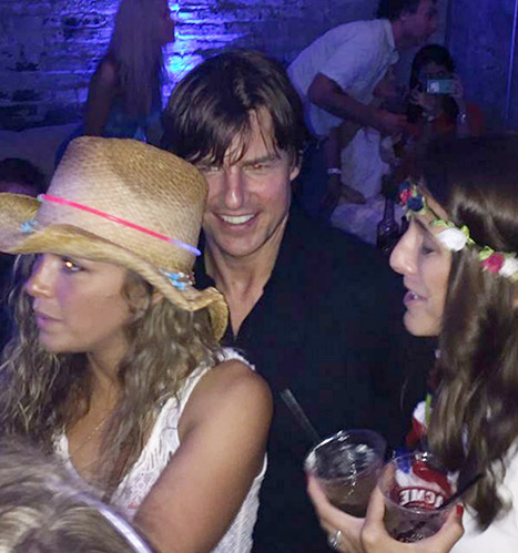 Tom Cruise Spends Fourth Of July Partying In Nashville