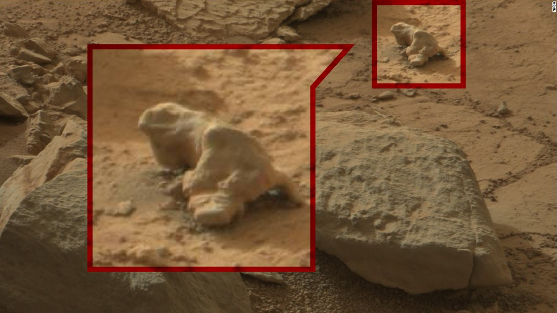 Mars Rover Photos Reveal Strange Findings