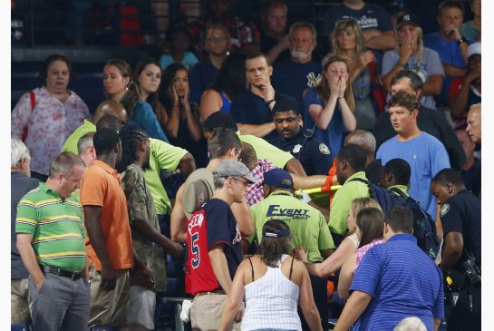 Fan Falls To His Death At Turner field During during Yankees-Braves Game VIDEO