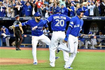 Toronto Blue Jays Win ALDS Beating Texas Rangers