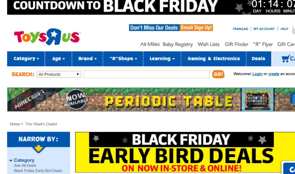 When Does Toys R Us Open For Black Friday And Thanksgiving Plus - Toys r us map