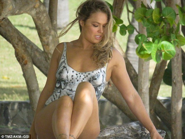 Ronda Rousey Body Paint Photo Shoot Pics Released