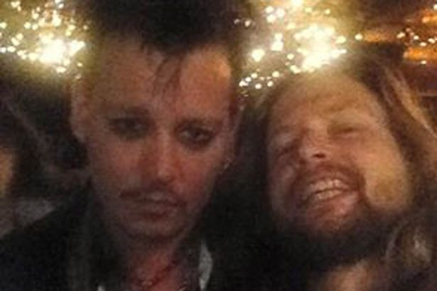 Depp fights bodyguard in  Drunken Stuper