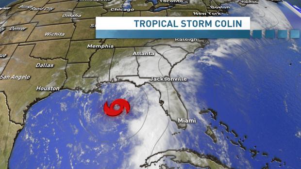 Tropical Storm Colin | eCanadaNow