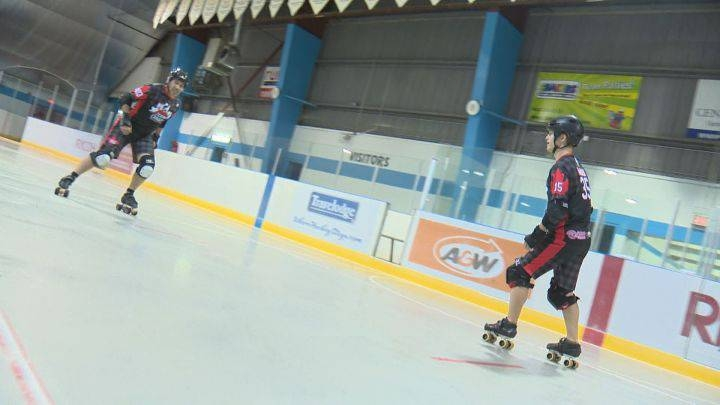 Father And Son Take On The World In Men's Roller Derby
