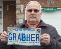 'Grabher' licence Plate Name Sexist?