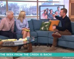 James Van Der Beek Gives Weird Awkard Dawson's Creek Interview