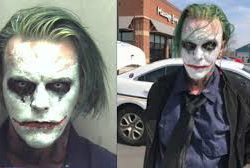 Man dressed as the Joker arrested (PHOTO)