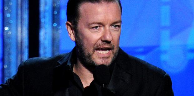 Ricky Gervais baby joke