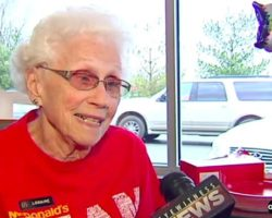 mcdonald's loraine maurer has been on the job for 44 years